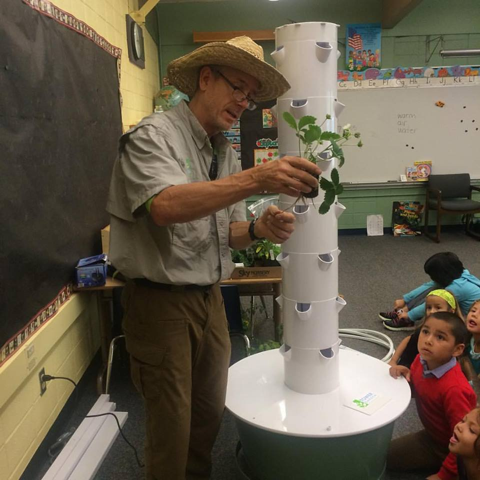 Tower Garden shipped to Sultan Boys and Girls Club