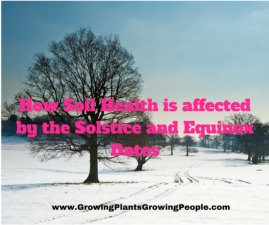 How Soil Health is affected by the Solstice and Equinox Dates