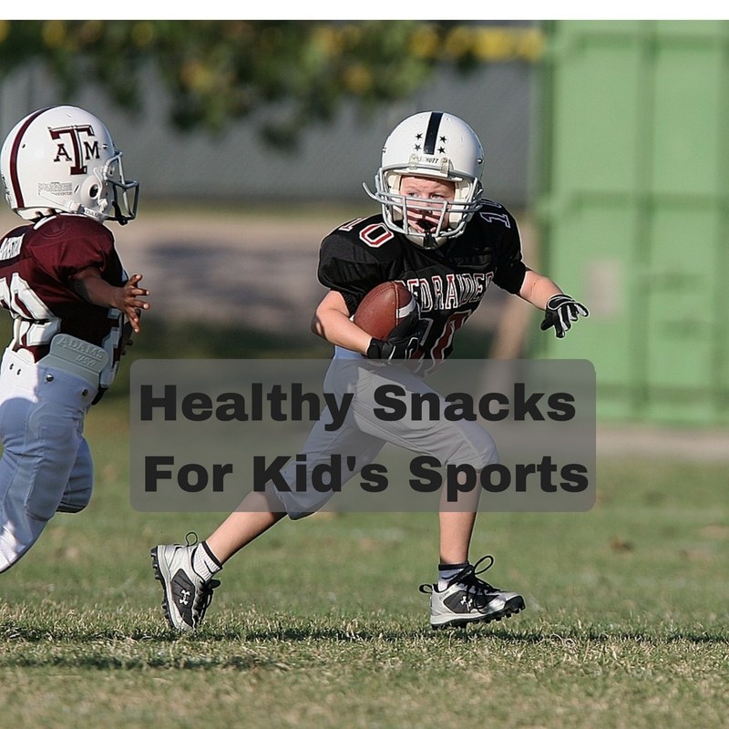 Healthy Snacks for Kids Sports
